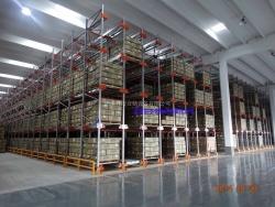 上海某灯具公司半自动化高密存储仓库